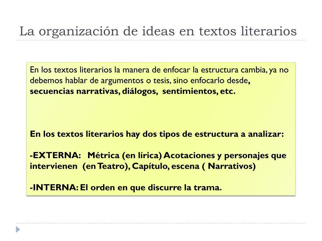 Ppt El Texto En Selectividad Powerpoint Presentation Free