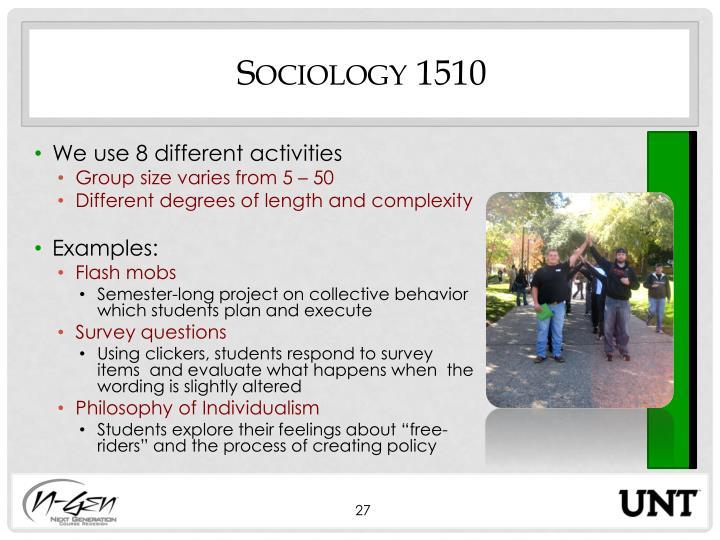 Sociology 1510