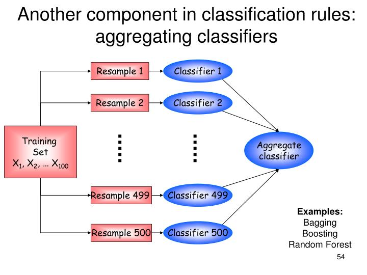 Another component in classification rules: