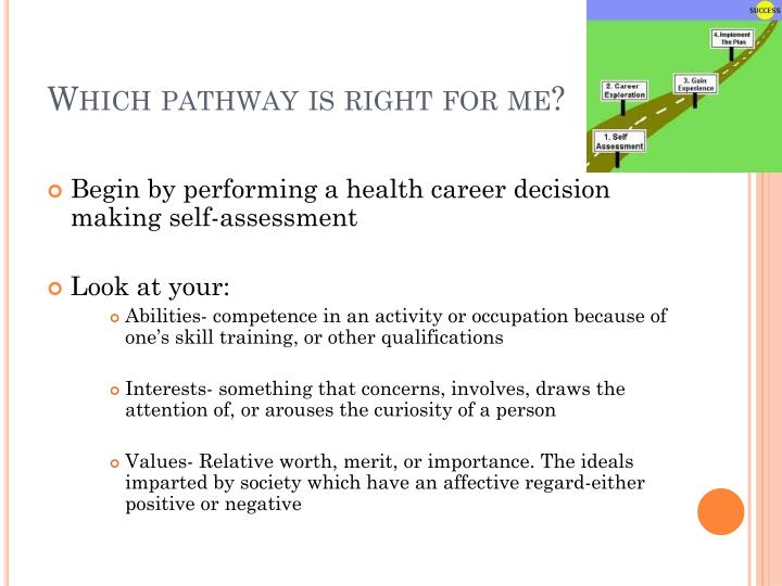Which pathway is right for me?