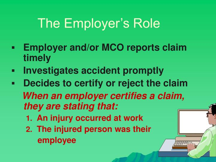 The Employer's Role