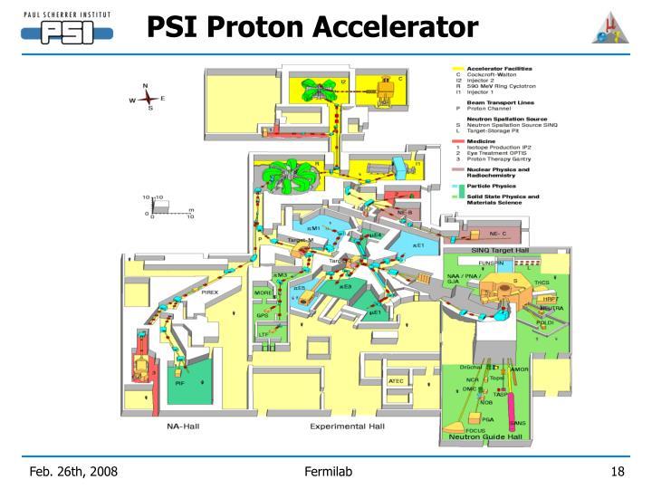 PSI Proton Accelerator