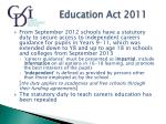 education act 2011