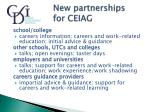 new partnerships for ceiag