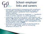 school employer links and careers