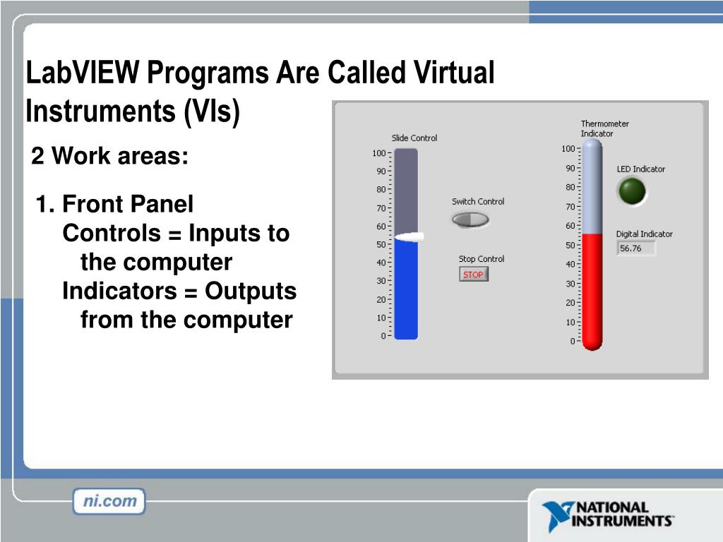 PPT - LabVIEW in 3 Hours PowerPoint Presentation - ID:5597267
