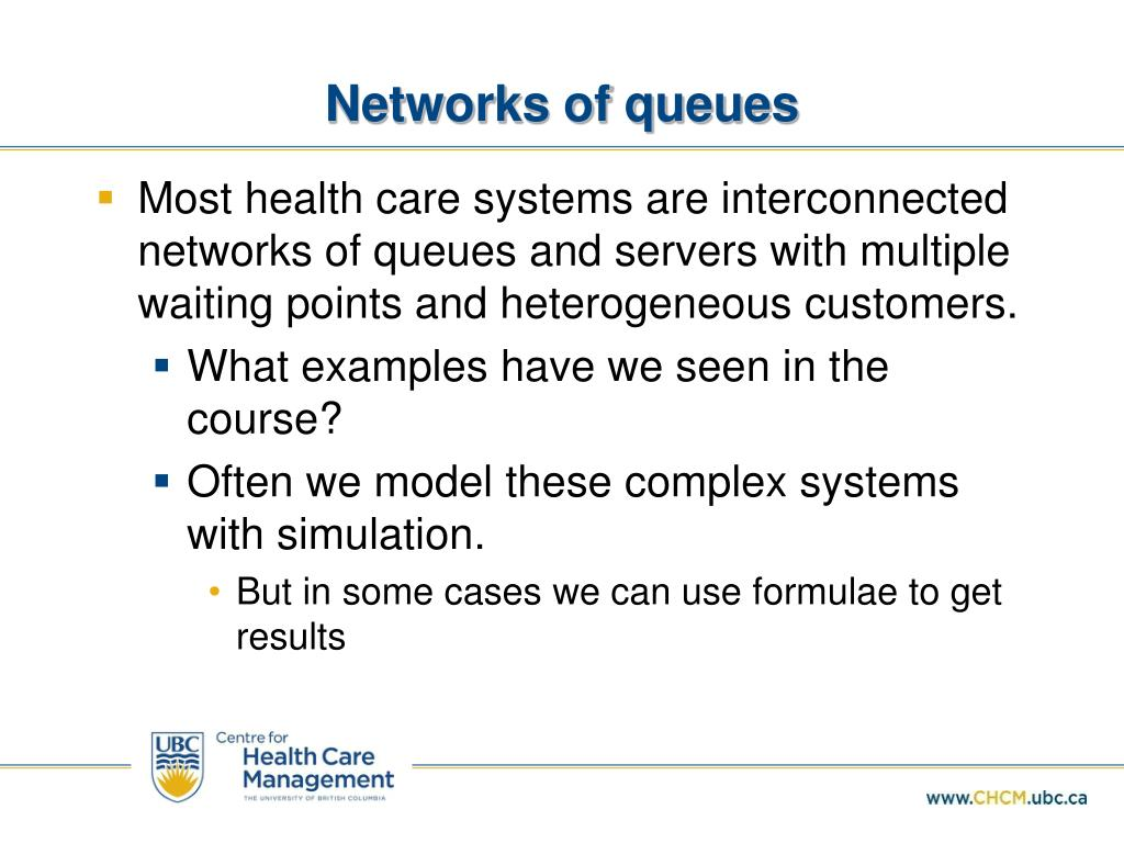 PPT - Capacity Setting and Queuing Theory PowerPoint Presentation