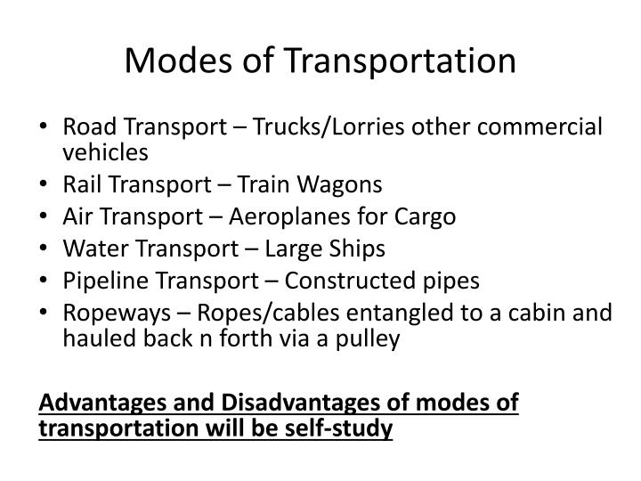 Free powerpoint presentations about transportation for kids.