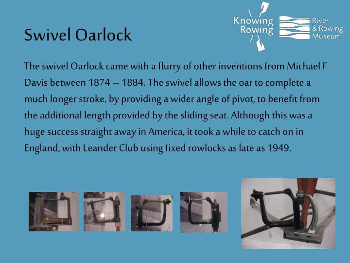 Swivel Oarlock
