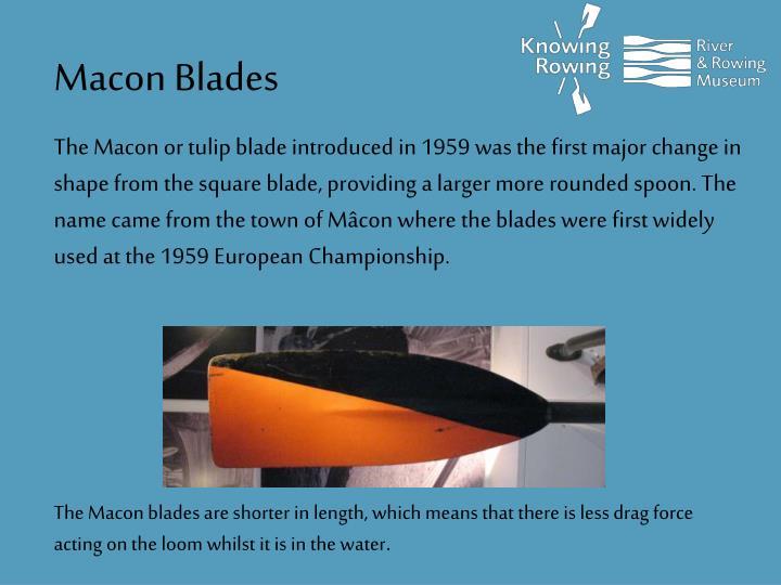 Macon Blades