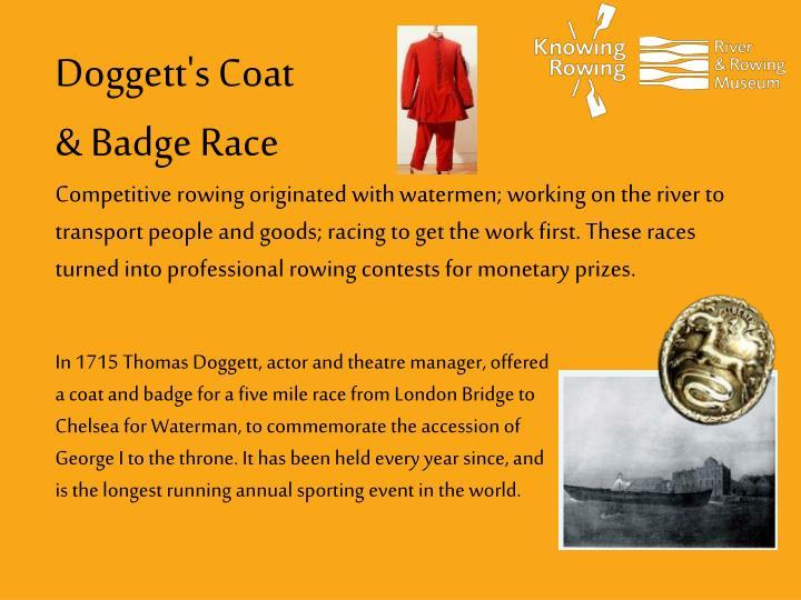 Doggett's Coat