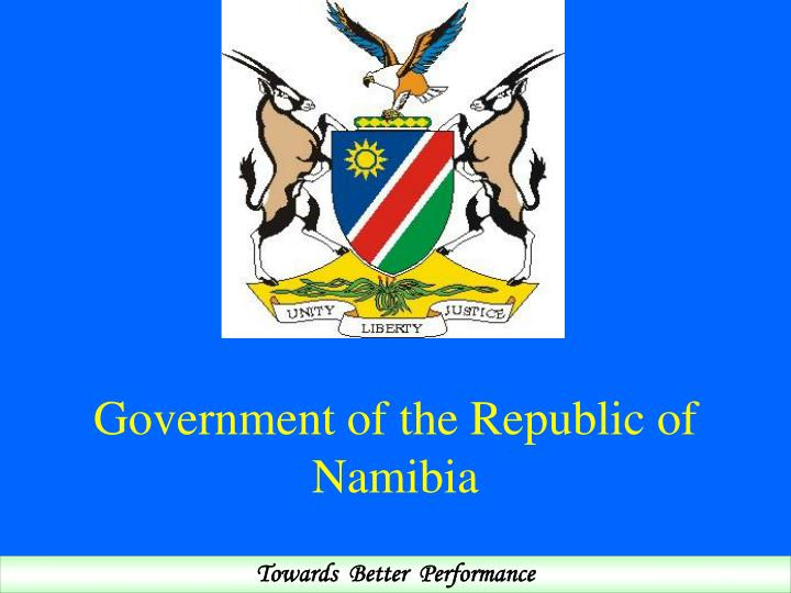 Image result for namibian government