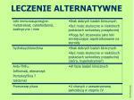 leczenie alternatywne