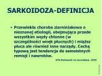 sarkoidoza definicja