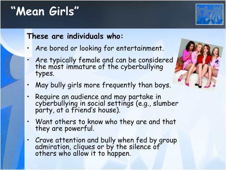 """""""Mean Girls"""""""