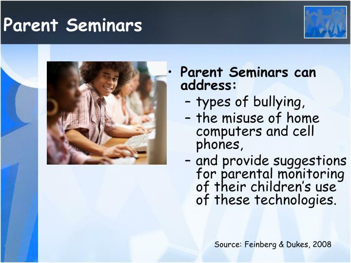 Parent Seminars