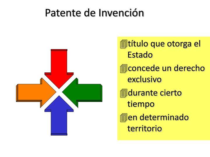 Patente de Invención