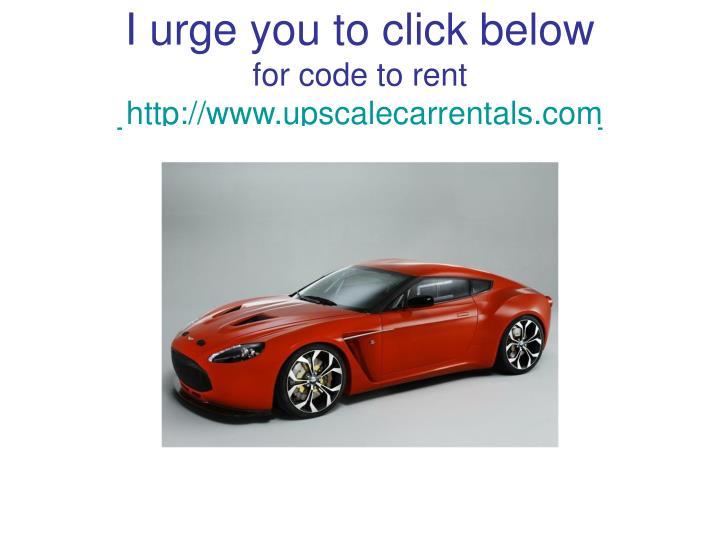 I urge you to click below
