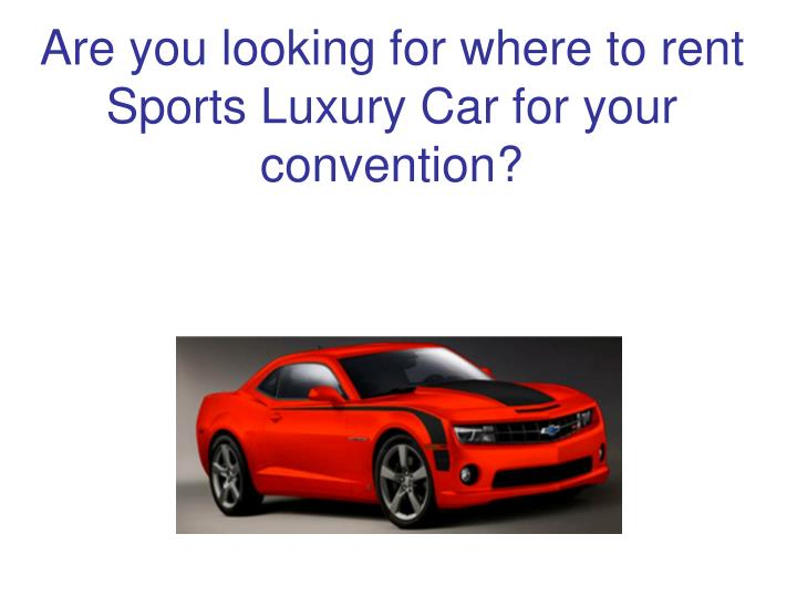 Are you looking for where to rent