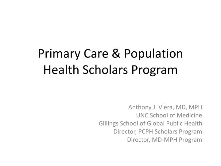 achieving opportunities in the summer public health scholars program sphsp