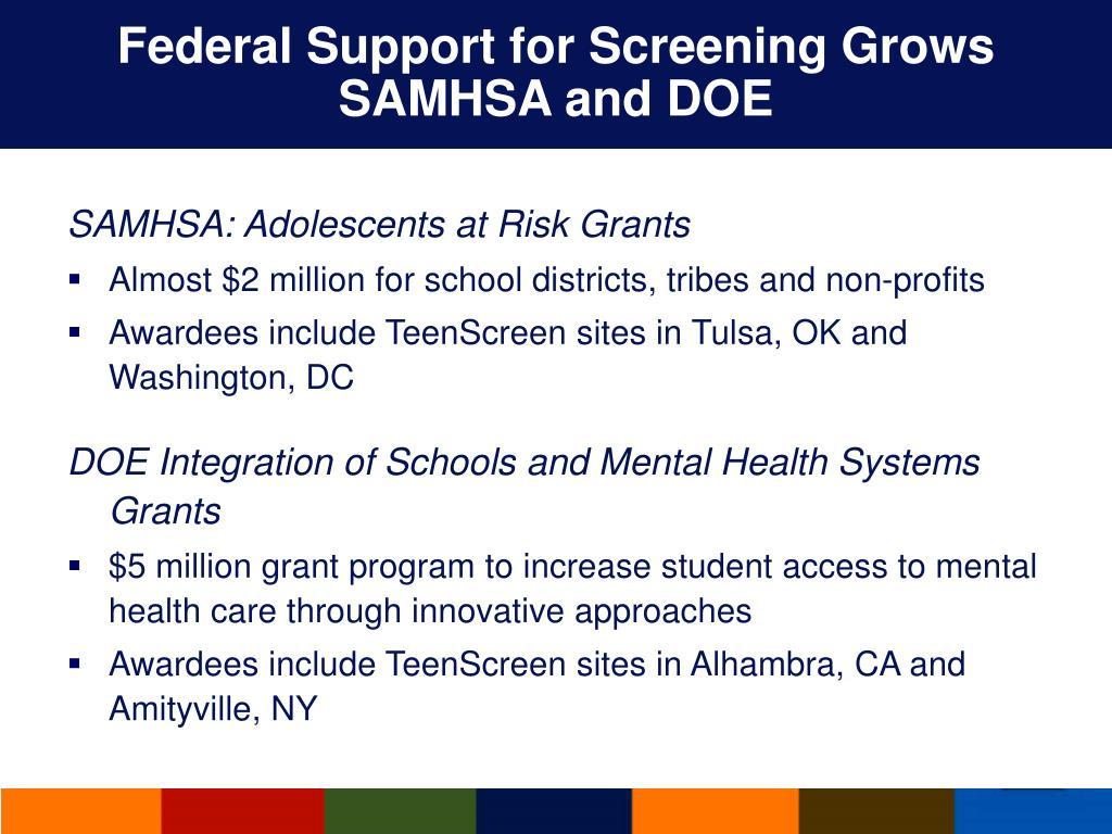 PPT - Columbia University TeenScreen Program PowerPoint ...