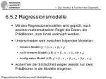 6 5 2 regressionsmodelle