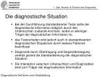 die diagnostische situation