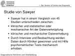 studie von sawyer
