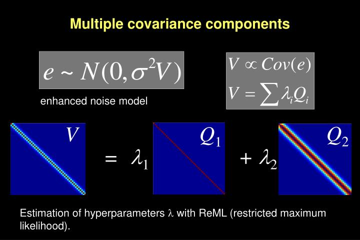 Multiple covariance components