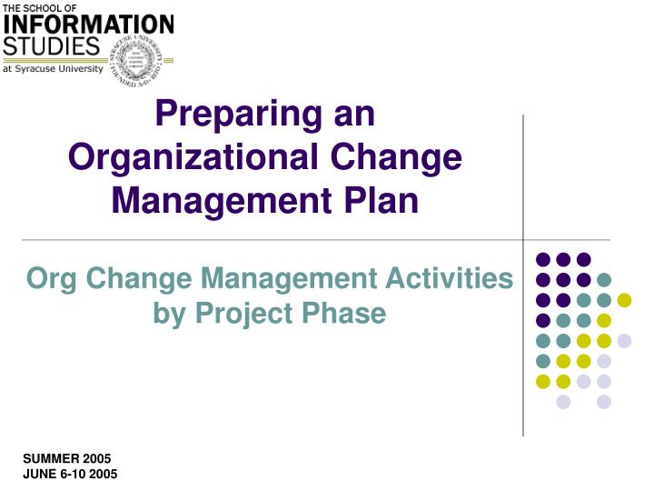organizational change plan part 1 In part 2 of this post i'll explore what is perhaps the most practical and scalable organizational model, the flatter organization jacob morgan is a keynote speaker, author (most recently of.
