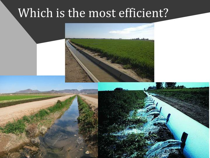 Which is the most efficient?