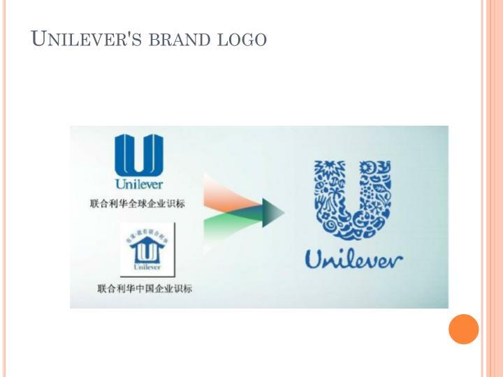 ppt - unilever's brand logo powerpoint presentation - id:5600190, Presentation templates
