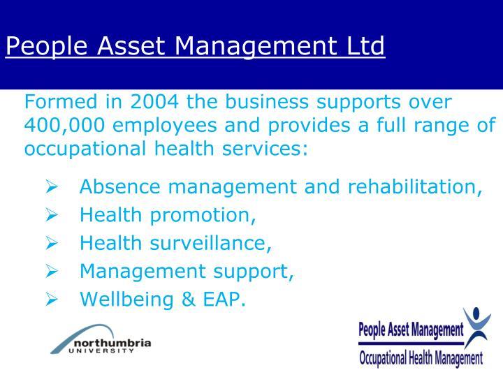 People Asset Management Ltd