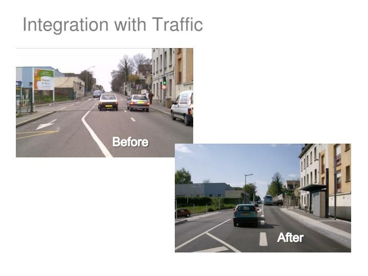 Integration with Traffic