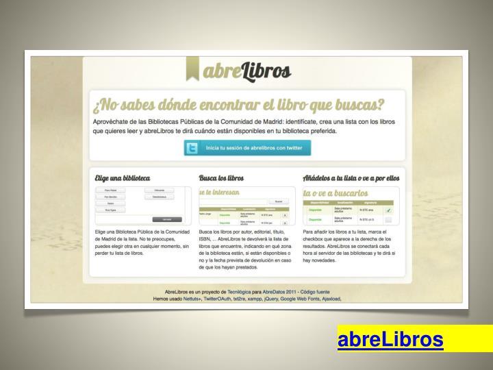 abreLibros