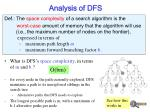 analysis of dfs6