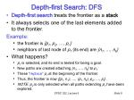 depth first search dfs