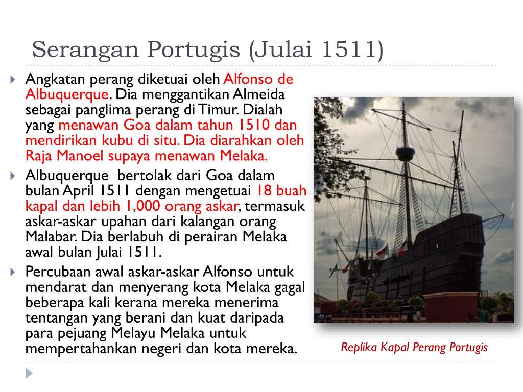 Ppt Memperingati 500 Tahun Kejatuhan Empayar Melayu Islam Melaka Powerpoint Presentation Id 5600992