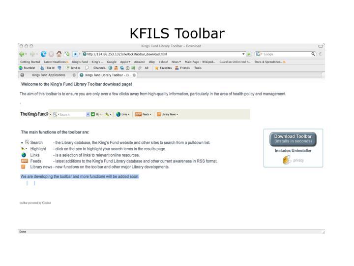 KFILS Toolbar