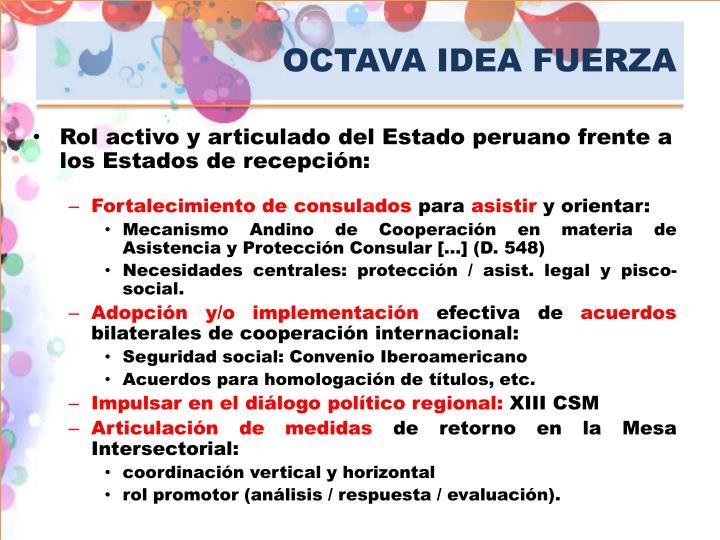 OCTAVA IDEA FUERZA