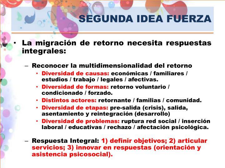 SEGUNDA IDEA FUERZA