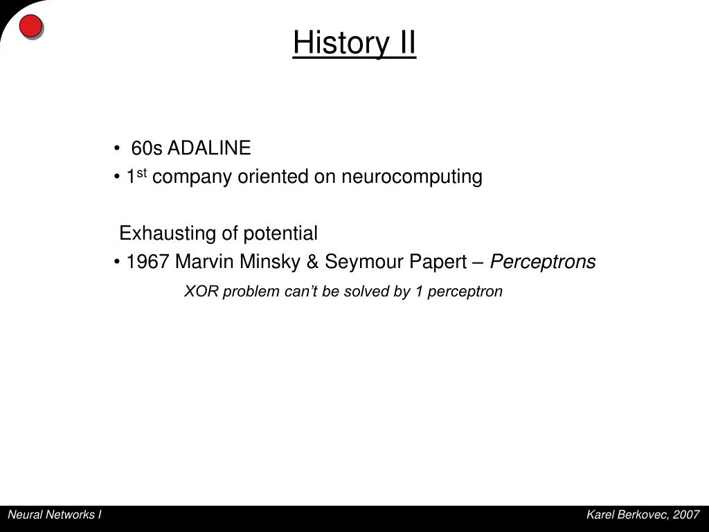 PPT - Neural Networks I PowerPoint Presentation - ID:5601927
