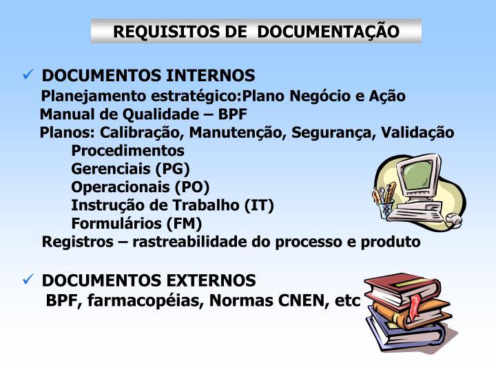 REQUISITOS DE