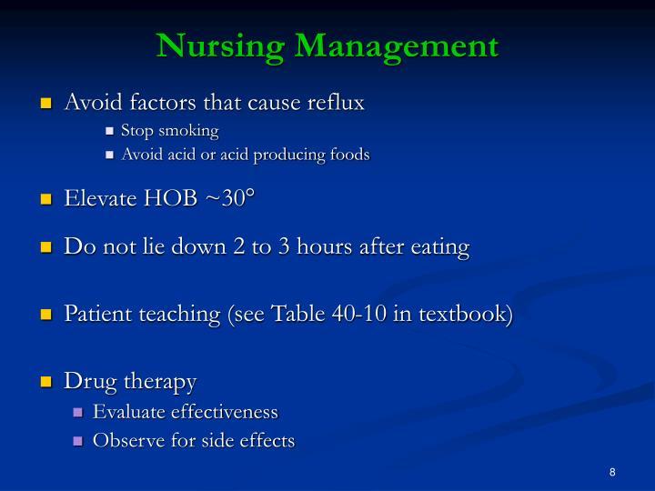 Peptic ulcer disease nursing care and management nurseslabs.