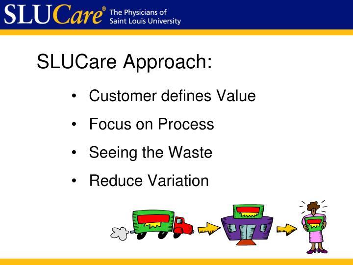 SLUCare Approach: