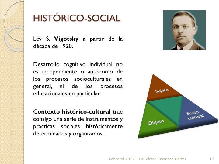HISTÓRICO-SOCIAL