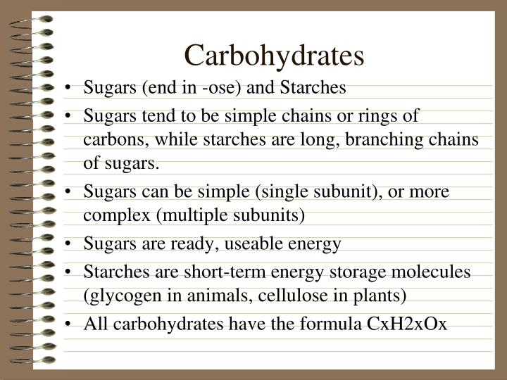 Carbohydrates
