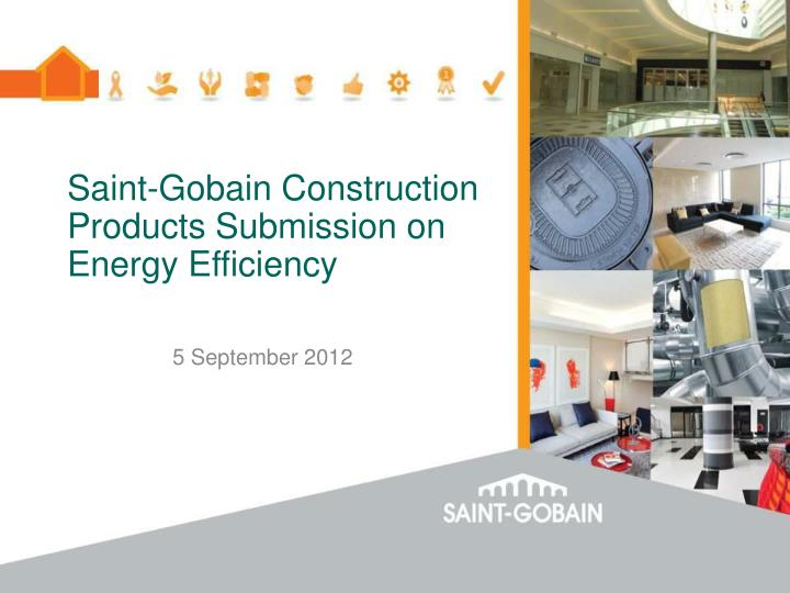 saint gobain construction products submission on energy efficiency n.