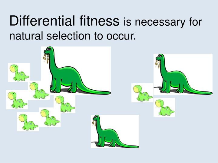 Differential fitness