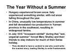 the year without a summer1